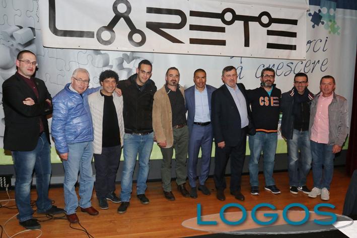 Busto Garolfo - L'ex difensore dell'Inter Ivan Cordoba durante l'incontro