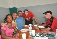 Sociale - I City Angels con alcuni clochard e migranti