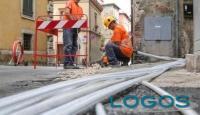 Attualità - Lavori per la banda larga (Foto internet)