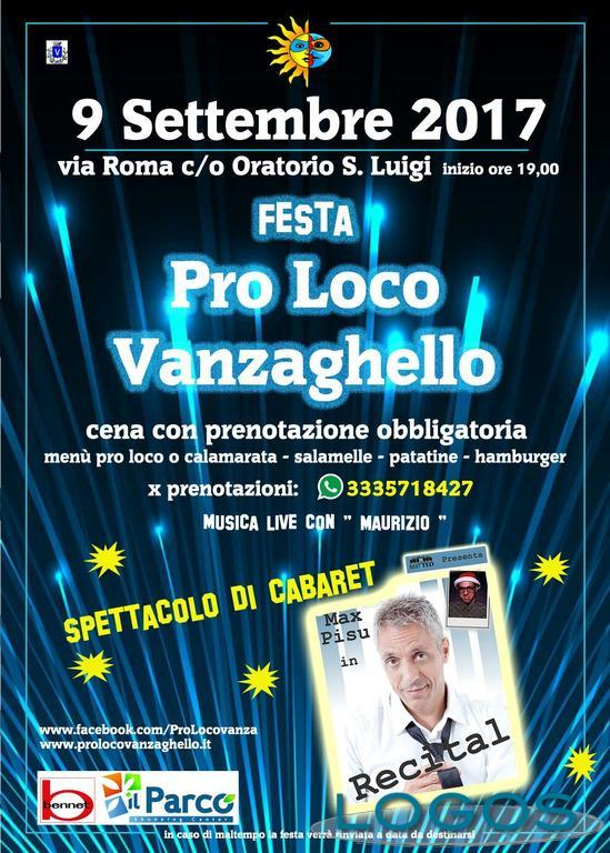 Vanzaghello - Festa Pro Loco: il volantino