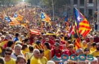 Attualità - Cittadini della Catalogna in protesta (da internet)