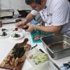 Turbigo - Andrea Ravezzani alla preparazione di alcuni piatti