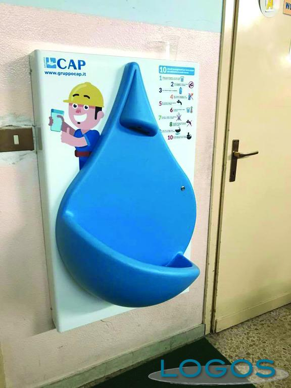 Inveruno - La nuova fontanella water drop