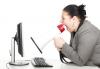 Rubrica 'Post Scriptum' - Donna che urla su internet