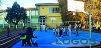 Buscate - Il nuovo cortile della scuola