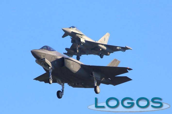Attualità - Gli F-35 (Foto Donato Angelo Tornotti)