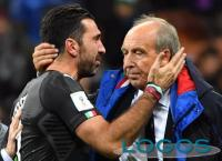 Sport - Il ct Gian Piero Ventura con Gigi Buffon (Foto internet)