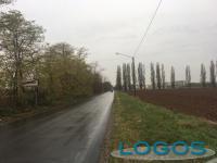 Inveruno / Cuggiono - La pista ciclopedonale verso l'ospedale