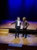 Musica - Gianni Morandi alla conferenza stampa a Milano