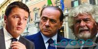 Il bastian contrario - Renzi, Berlusconi e Grillo (Foto internet)