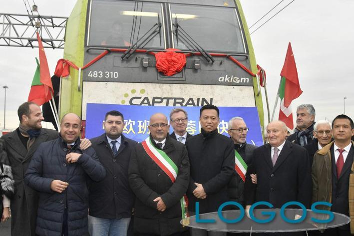 Attualità - Il primo treno merci tra Italia e Cina