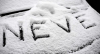 Rubrica 'Meteo Sincero' - Neve (da internet)