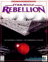La copertina di Star Wars Rebellion
