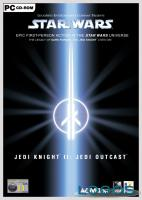 La copertina di Star Wars Jedi Knight 2