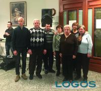 Castano Primo / Nosate - Il gruppo Auser con il sindaco di Nosate