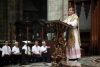 Milano - L'Arcivescovo Mario Delpini in una funzione in Duomo (da internet)
