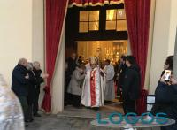 Mesero - Il Vescovo di Milano, Monsignor Delpini, al Santuario di Santa Gianna