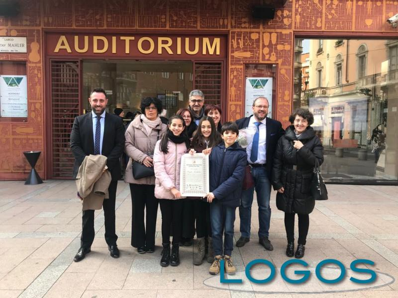 Castano Primo - Il progetto 'Io Cittadino' premiato a Milano