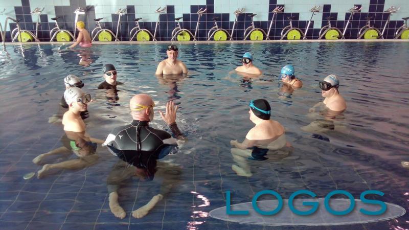 Magnago - Un momento dell'attività con l'Asd Ability Apnea