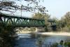 Territorio - Il ponte di ferro sul fiume Ticino (Foto internet)