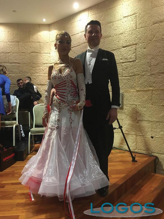 Buscate / Storie - Collette con il suo compagno di danza Mauro