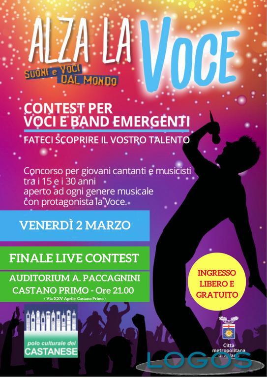 Musica - Contest per giovani cantanti e musicisti: la locandina