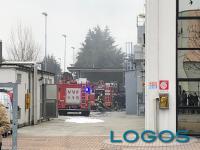 Cuggiono - Incendio all'Ichemco.1
