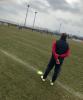 Sport - Un momento dell'allenamento del Novara