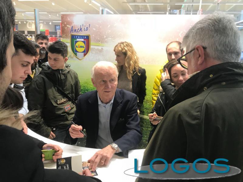 Sport / Legnano - Giovanni Trapattoni ospite al Lidl