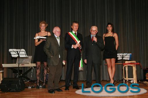 Castano Primo - Marco Tacchi, nel 2010, quando aveva ricevuto il 'Città di Castano Primo'