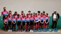 Turbigo - La squadra del Velo Club 'Raffaele Marcoli' e le nuove divise