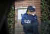 Busto Arsizio - Un controllo della Polizia (Foto d'archivio)
