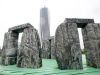 Milano - La 'Stonehenge' a City Life (foto internet)
