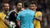 Il terzo tempo - Gigi Buffon durante la partita tra Juve e Real (Foto internet)
