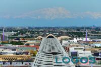 EXPO - Una veduta aerea del Decumano