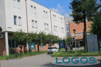 Cuggiono - L'ingresso dell'ospedale (Foto d'archivio)
