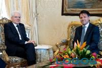 Politica - Il Presidente della Repubblica Mattarella con Conte (Foto internet)
