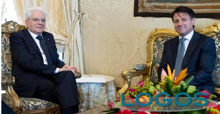 Politica - Sergio Mattarella e Giuseppe Conte