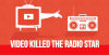 Comunicaré - 'Video killed the radio star' (Foto internet)
