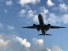 Turbigo - Un aereo in volo sopra il nostro territorio