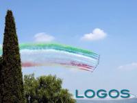 Eventi - Le Frecce Tricolori in volo sopra Arona