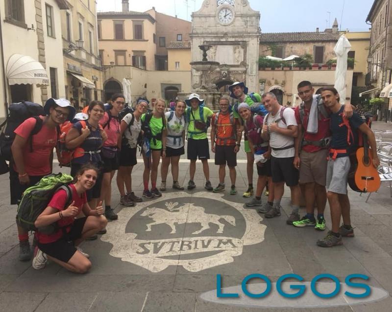 Cuggiono - Giovani pellegrini verso Roma
