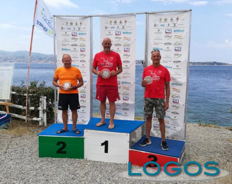 Arconate - Luca Monolo sul gradino più alto del podio
