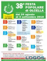 Busto Garolfo - Il programma della 38^ Festa Popolare di Olcella, la locandina