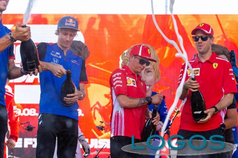 Milano - Vettel e Raikkonen in Darsena per il F1 Milan Festival (Foto Eliuz Photography)