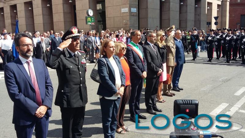 Milano - Autorità civili e militari alla cerimonia