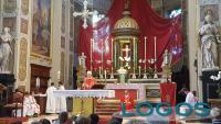 Cuggiono - Don Franco durante la celebrazione della Santa Messa