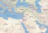 Rubrica Nostro Mondo - Siria, mappa (da internet)
