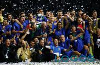 Il terzo tempo - La Nazionale Italiana campione del mondo nel 2006 (Foto internet)