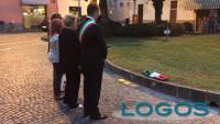 Castano Primo - Le pietre della memoria in piazza Mazzini